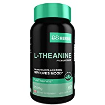 L-Theanine – Pharmaceutical Grade – Vegetarian Capsules – 250 mg (per cap) – 60 caps