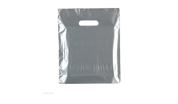 100 x color bolsa bolsas de plástico de colores 10