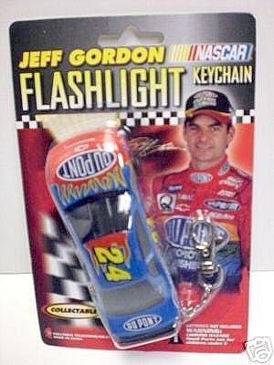 Jeff Gordon NASCAR Du Pont Flashlight (Jeff Gordon Light)