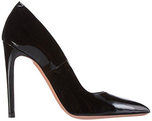 Oxitaly Women's Stella 100 Closed Toe Heels Black (Nero) zk3vVuTtH