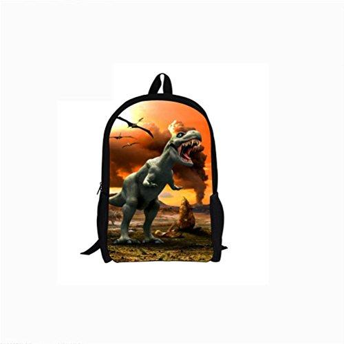 High 3D Backpacks Printing Capacity 6796c School Dinosaur Student Bag Backpack n5ISqw7Sx