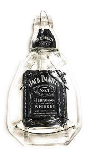 Landfill Dzine Jack Daniels Tennessee Whiskey Handmade Melted Bottle Serving -
