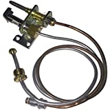 RCK Sales Gas Log Safety Pilot Tube and Thermocouple Assembly for Propane (LP) Gas 18