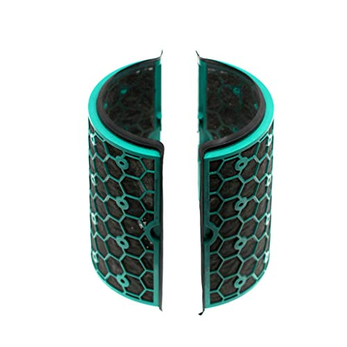 charts_DRESS Inner Activated Carbon Filter for Dyson TP04/HP04/DP04/TP05/HP05 Pure Cool Purifier Fan Sealed Two Stage 360° Filter System (Green)