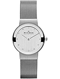 Women's 358SSSD Freja Stainless Steel Mesh Watch
