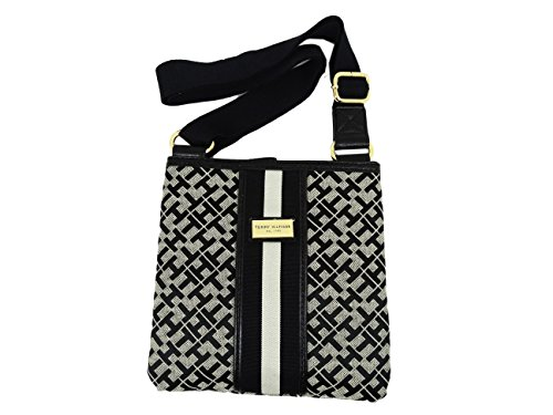 Crossbody Handbag Black Bag Messenger Hilfiger Small Tommy PwxEpRq8