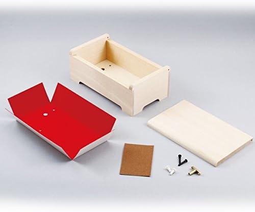 デコデコオルゴール箱 DX 完成サイズ:200×110×高さ74