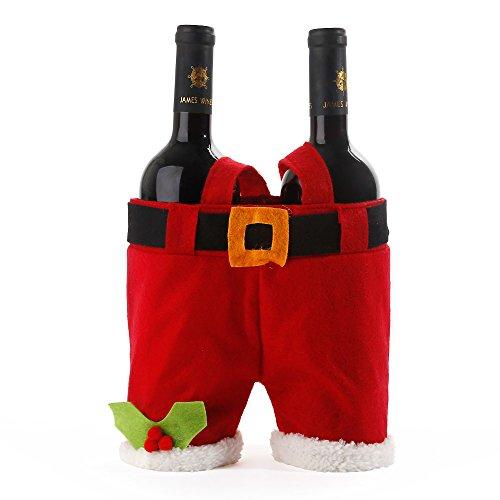 AGM Decorations Santa Claus Bottle