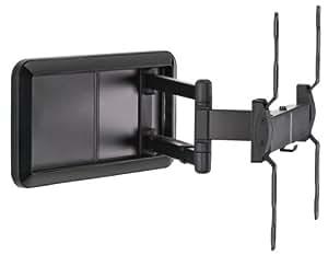 "Meliconi DSR400 - Soporte de pared para televisores de 40"" a 50"" (max 30 Kg, 90º horizontal, 15º vertical, universal 400x400) negro"
