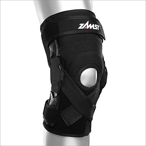 Zamst ZK-X Hinged Knee Brace Support, Black, Small Fly Knee Brace