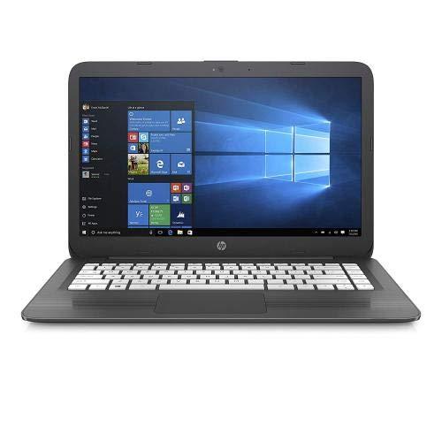 HP Stream 14-inch Laptop, Intel Celeron N4000 Processor, 4 GB RAM, 32 GB eMMC, Windows 10 S with Office 365 Personal for One Year (14-cb130nr, Gray)