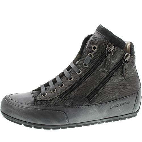 4 Womens Candice Gris Lucia Trainers Cooper Zip xUqq7wTH
