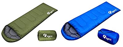 Peanut By EGOZ Easy to carry Blue Warm Adult Sleeping Bag Outdoor Sports Camping Hiking With Carry Bag