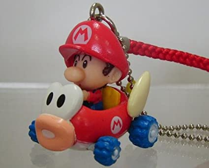 Amazon.com: Mario Kart Wii Baby Mario Kart Keychain - Baby ...
