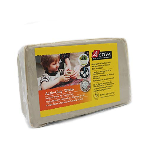 Activa Activ-Clay Self Hardening, 3.3-Pound, - Activa Activ Clay
