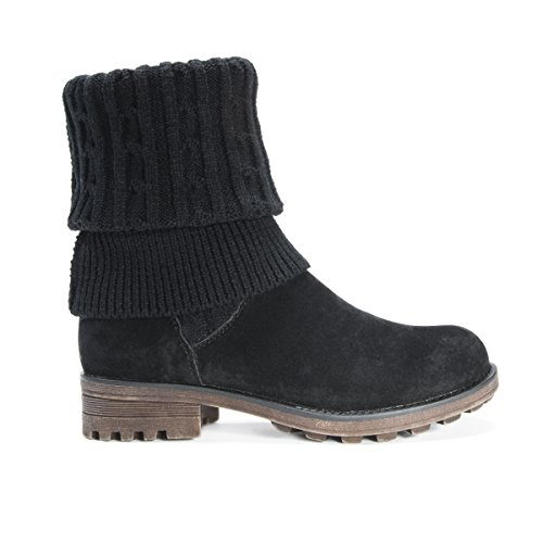 Pictures of MUK LUKS Women's Kelby Boots Fashion Black 6 M US 2