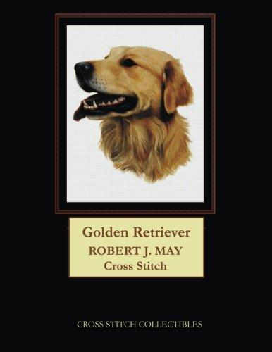 Golden Retriever: Robt. J. May dog cross stitch pattern