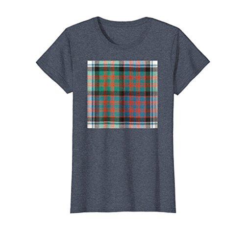Womens Scottish MacDonald, McDonald, Donald Clan Tartan Shirt XL Heather (Macdonald Clan Shop)