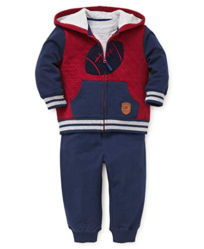 Little Me Baby Boy's Jogger Set Sweater, football