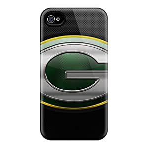 Awesome VGI128ELHf Leoldfcto744 Defender Hard Cases Covers For Iphone 6plus- Green Bay Packers