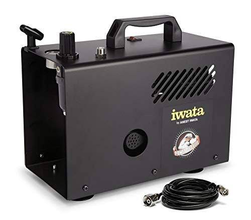 (Iwata-Medea Studio Series Power Jet Lite Double Piston Air Compressor )
