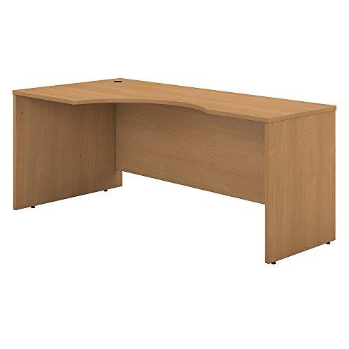 Bush Business Furniture Series C 72W Left Handed Corner Desk in Light Oak