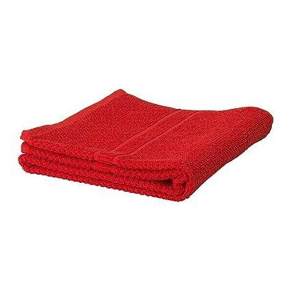 IKEA FRAJEN – Toalla de baño, rojo – 70 x 140 cm