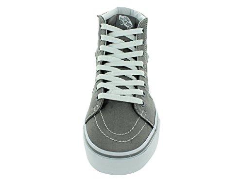 Vans Sk8 Hi Gelo Grigio / Bianco Moda Uomo Sneakers Di Tela