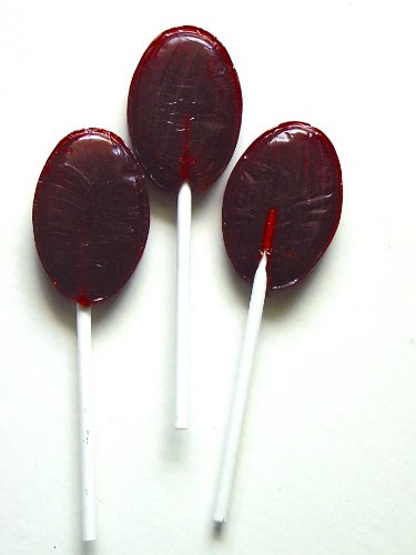 (Diabeticfriendly Sugar Free Lollipops, CHOCOLATE Flavored, 1 lb, Isomalt Kosher Kof K Parve)