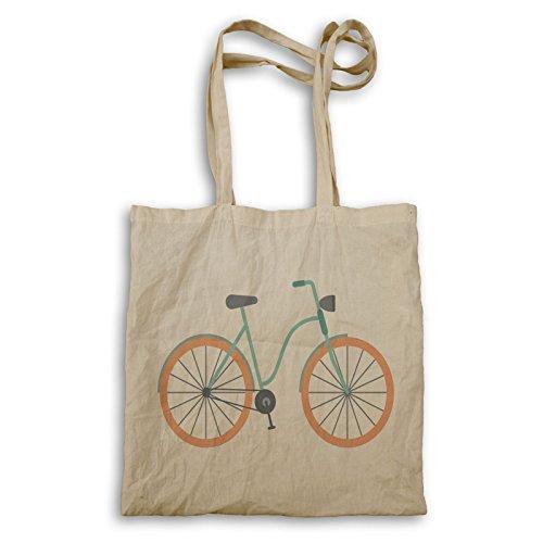 Vintage Retro Fahrrad Tragetasche q766r