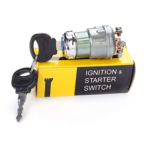 ouying1418 Universal Car Boat 12V 4 Position Ignition Starter Switch for Petrol Engine
