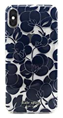 We prefer our digital devices just as chic as they are protected. So our design team went all out with this pretty design. Your track record of cracked screens stops here. Kate Spade New York Breezy Floral iPhone Xs Max Case, Blazer Blue Como...