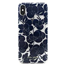 Kate Spade New York Breezy Floral iPhone Xs Max Case, Blazer Blue