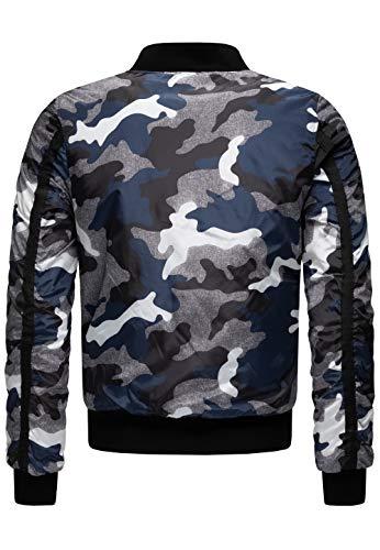 Redbridge Hommes Manche Longue Veste Longue Manteau Camouflage Armée Blouson Parka 2