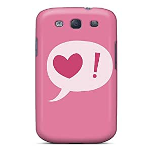 Flexible Tpu Back Case Cover For Galaxy S3 - In Love Mood by lolosakes