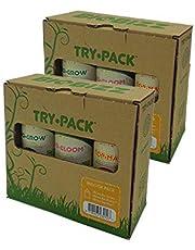 BioBizz Try-Pack Indoor Mega Pack - Pack de 3 Botes de 500 ml (6 Botes de 250 ml)