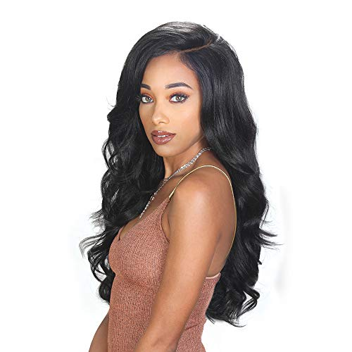 Royal Sis Beyond Synthetic Natural Top Braided Style Full Circle Hand-Tied Moon Part Lace Front Wig BYD MP-LACE H FAB (SOM RT REDRANGE) (Sis Wig Zury Front Lace)