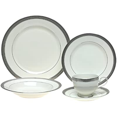 Click for Mikasa Palatial Platinum 5-Piece Place Setting, Service for 1