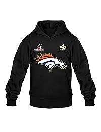Men's Denver Broncos Super Bowl 50 Soul Going To The Game Hoodie- Black