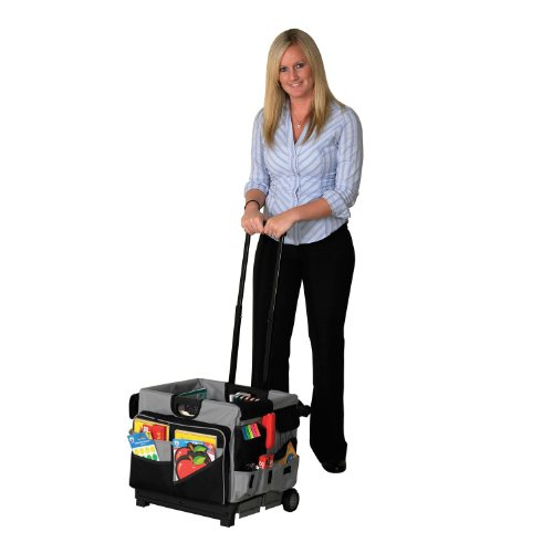 Early Learning Resources Universal Rolling Cart and Organizer Set, 16.5'' x 15'' x 16'