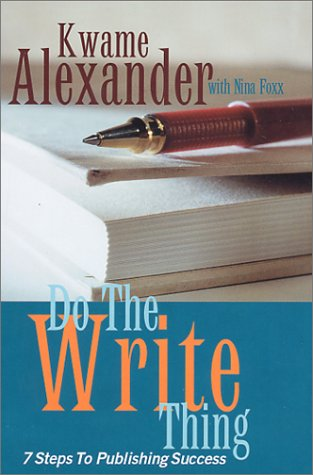 book cover of Do the Write Thing