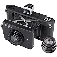 Lomography 2 Belair X 6-12 City Slicker Medium Format Folding Camera (Silver/Brown)