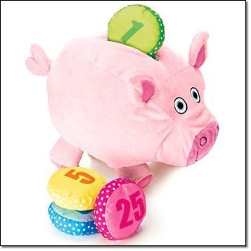 Tiny Tillia Plush Dilly Piggy Bank ()