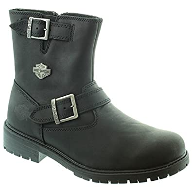 37706cf8e248 Harley Davidson - Mens Paxton Ankle Boots in Black