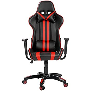 pc racing gaming chair 500lbs capacity julyfox computer video game chairs with adjustable arms headrest