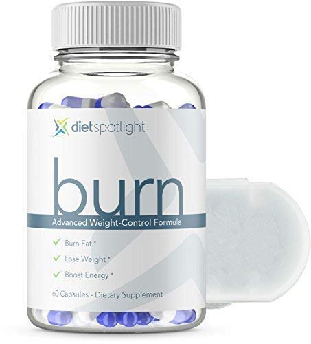 Burn TS® Advanced Weight Loss Formula - Metabolism & Energy Booster, Appetite Suppressant & Effective Natural Thermogenic Supplement (1 Bottle and Daily Dose Case) by Dietspotlight