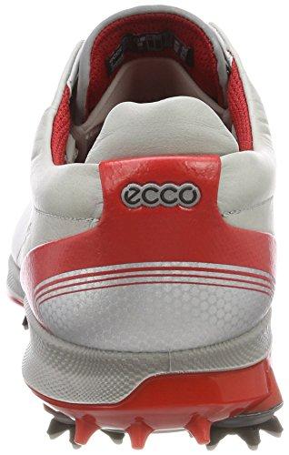 ECCO Mens Biom G2 Free Gore-TEX Golf Shoe Concrete/Scarlet bUGK9dm
