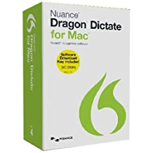 Dragon Dictate for Mac 4.0 [Keycard edition]