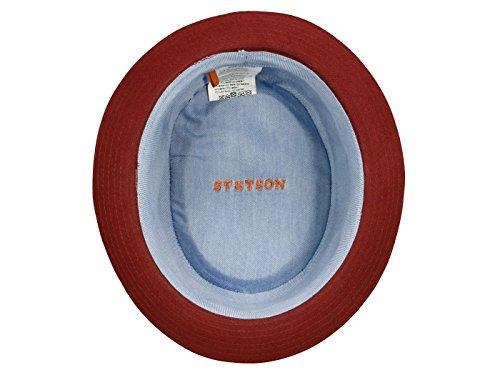 e021ed04a Stetson Athens Cotton Pork Pie Hat player - Buy Online in KSA ...