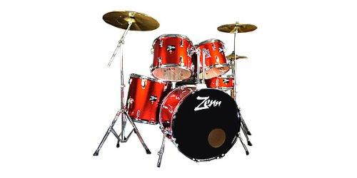 激安特価 【国内正規品 ZDS3000II】 ZENN ZENN ゼン ドラムセット ZDS3000II METALLIC RED METALLIC ドラムセット B01MY8KIJA, 激安の皇帝エンペラーマート:af5d953e --- ciadaterra.com
